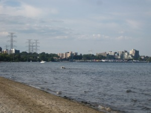 burlington skyline